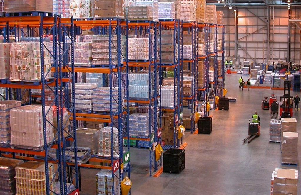 Mexican logistics centers